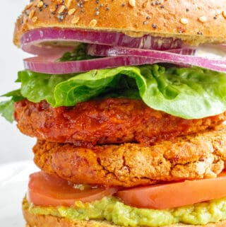 Smoky Bean Burgers - Vegan, GF & Healthy! Georgie Eats.