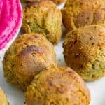 5 Ingredient Falafel - Vegan, GF & Healthy! Georgie Eats.