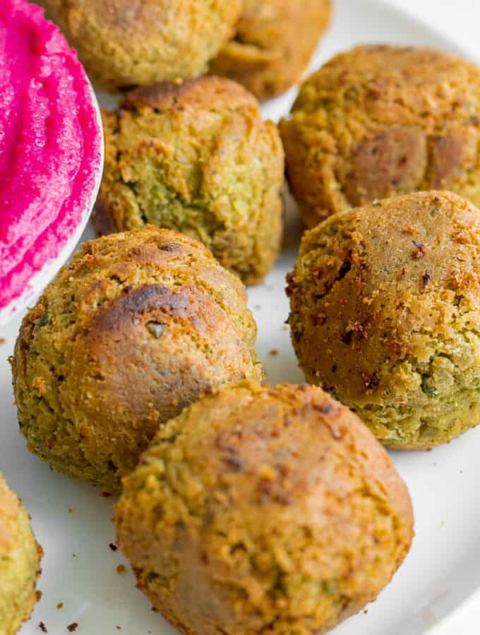 5 Ingredient Falafel - Vegan, GF & Healthy! Georgie Eats.