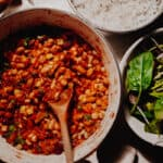 Mixed-Bean Veggie Chilli - Vegan, GF & Healthy!