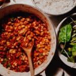 Mixed-Bean Veggie Chilli - Vegan, GF & Healthy!