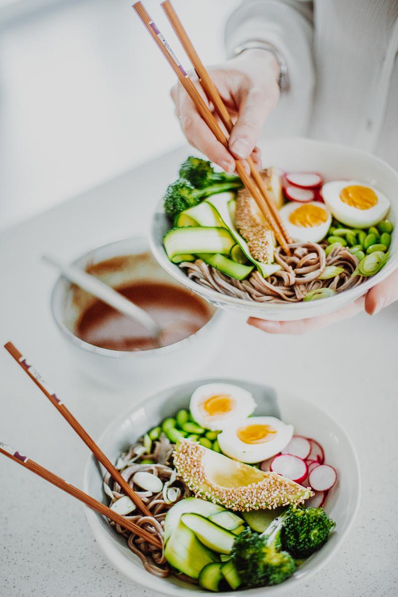 Miso Noodle Bowls - GF & Healthy! Georgie Eats.