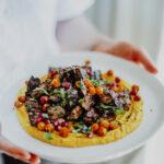 Loaded Lebanese Style Hummus - Healthy, GF & Vegan! Georgie Eats.